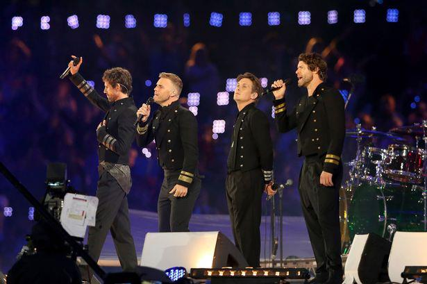Take That Olympics 2012 Closing Ceremony - GQ Magazine